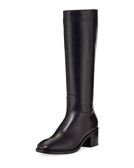 Justina Tall Calf Leather Boot