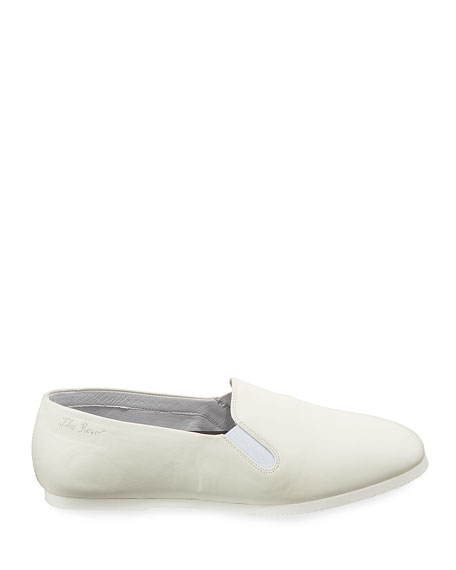 Grace Leather Slip-On Flat