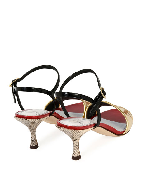 Amore Patent Leather 60mm Sandal
