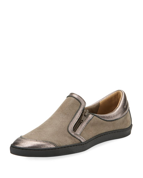 Sesto Meucci Frida Novel Floral Slip-On, Taupe