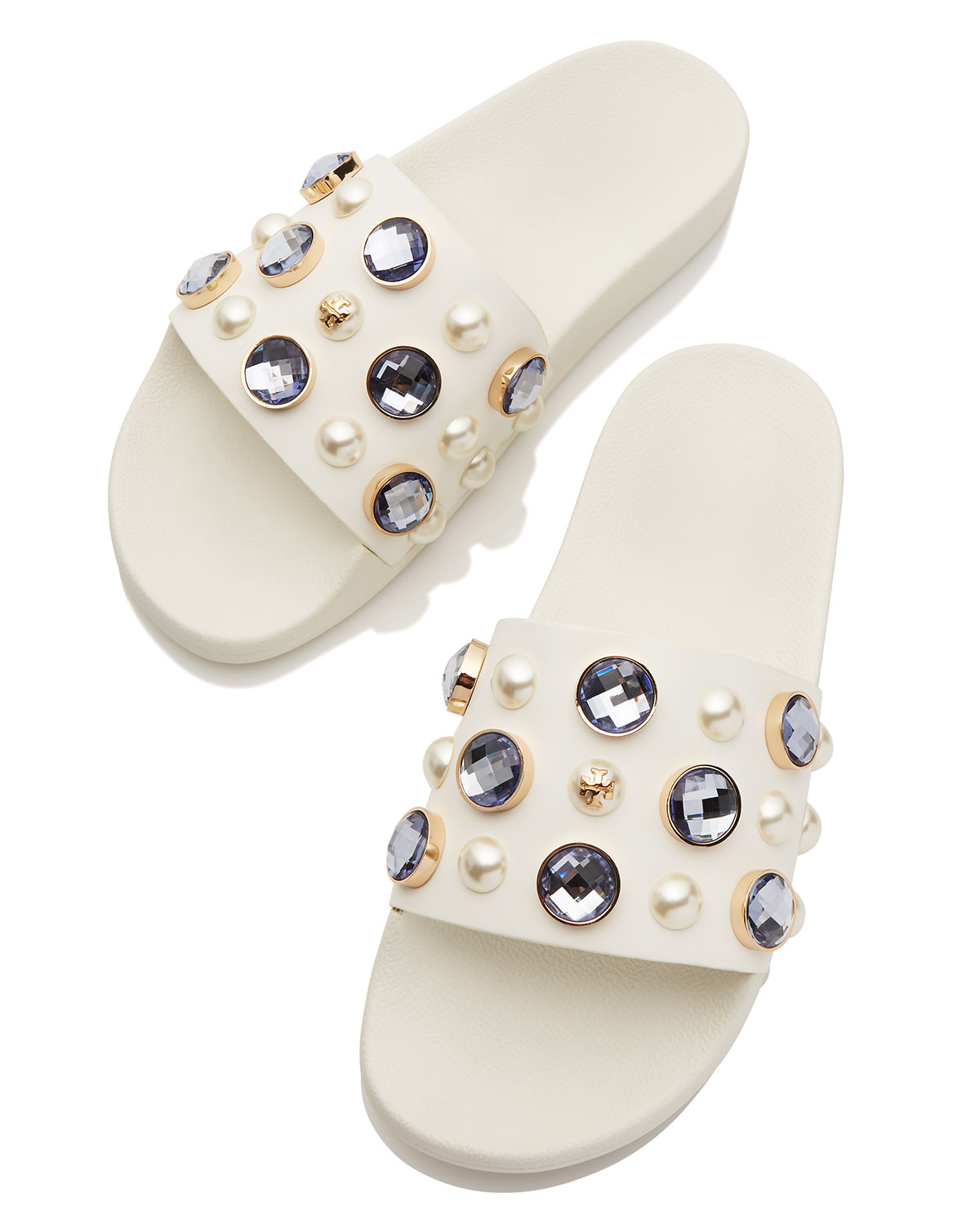 734e46e19c11b Tory Burch Vail Jeweled Flat Slide Sandal