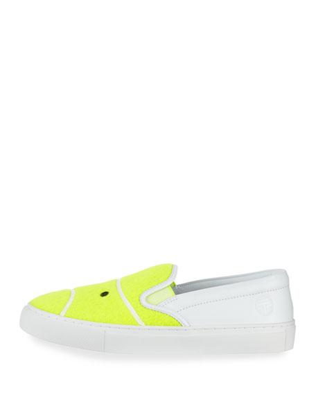 Tennis Felt Leather Skate Sneaker