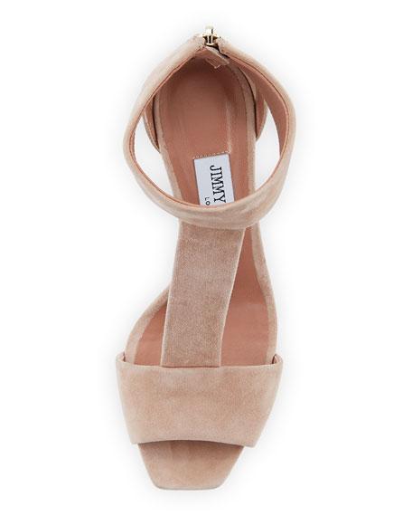 Bethel Suede T-Strap Sandal