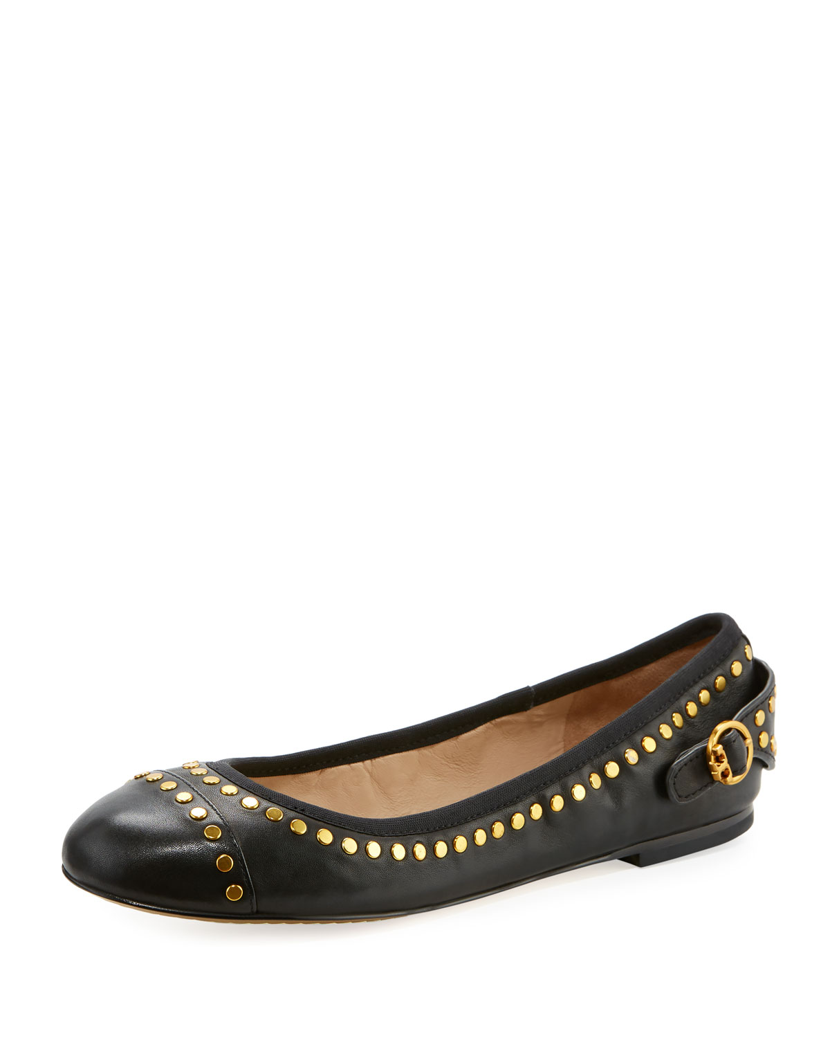 363890ce Holden Studded Leather Ballet Flat