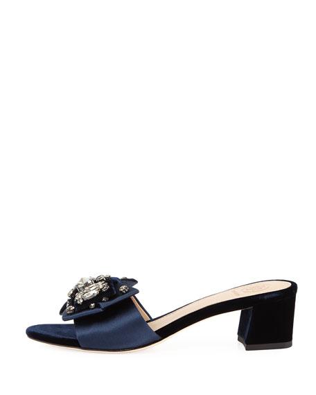 Valentina Bow 45mm Slide Sandal