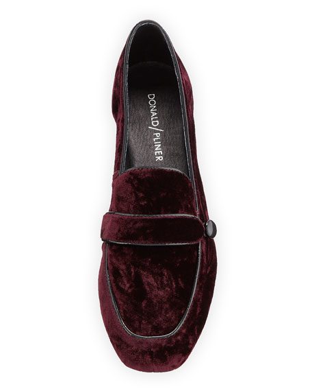 Haven Velvet Flat Loafer