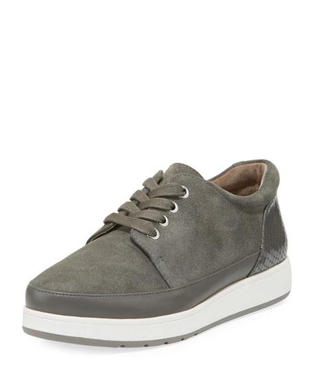 Donald J Pliner Miranda Tie Platform Sneaker