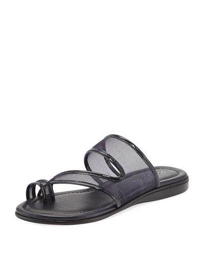 Best Casual Mesh Flat Slide Sandal