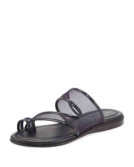 Donald J Pliner Best Casual Mesh Flat Slide