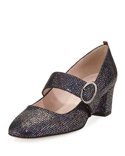 Tartt Glitter Mary Jane Pump