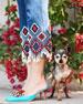 Vorga Embellished Linen Mule