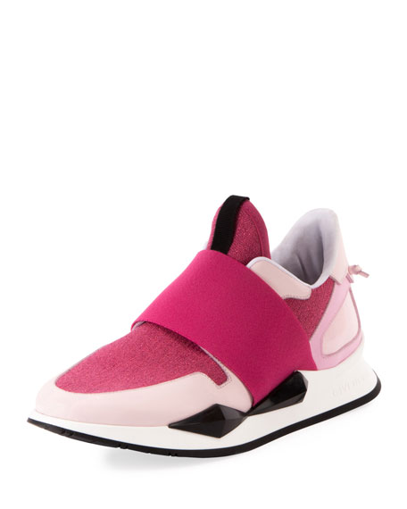 Mid-Top Elastic Runner Sneaker