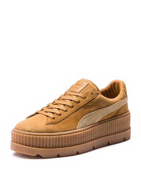 Fenty Puma by Rihanna Low-Top Suede Creeper Sneaker