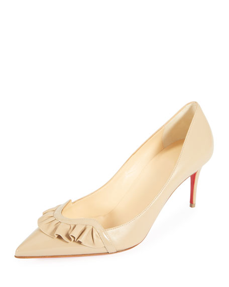 Frou Mid Napa Red Sole Pumps