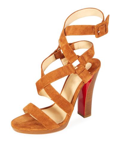 Corsini Suede Red Sole Sandal