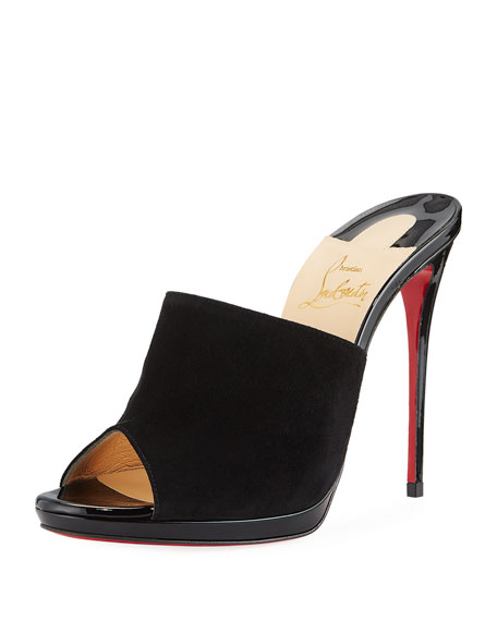 Submuline 120 Red Sole Mule Sandal