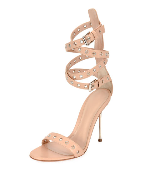 Grommet Ankle-Wrap 105mm Sandal