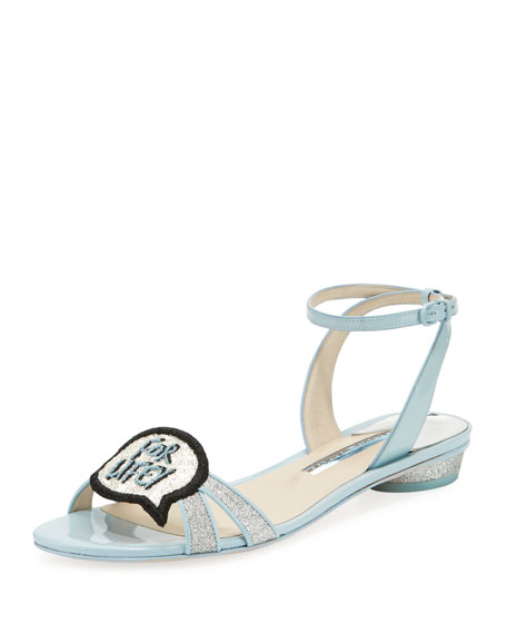 Sophia Webster Wifey for Lifey Ellen Bridal Sandal