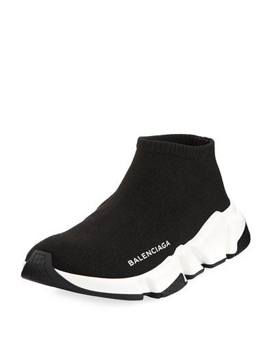 Low Knit Platform Trainer Sneaker