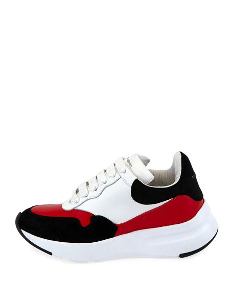 McQueen Leather Runner Sneakers