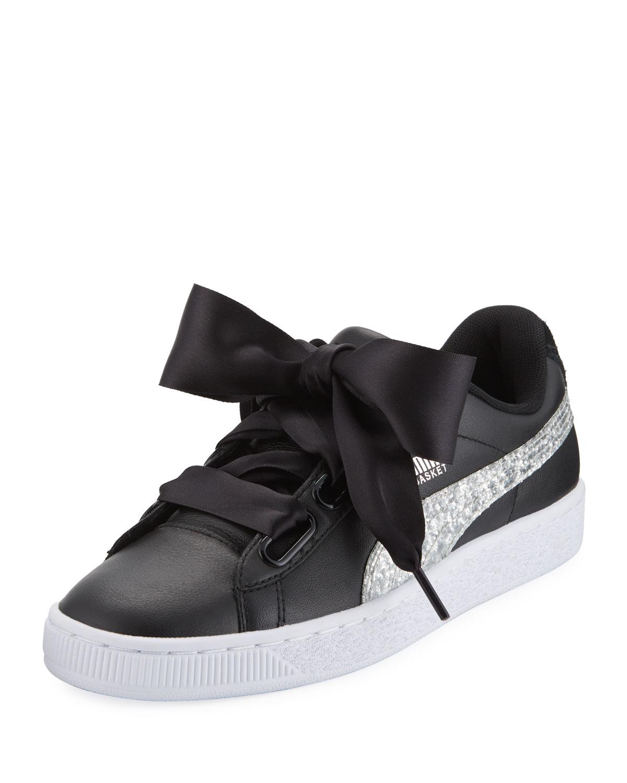 Puma Basket Heart Glitter Sneaker  b61742ef3