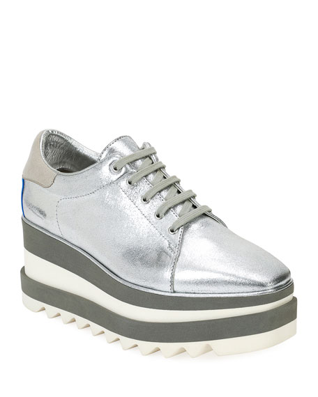 Stella McCartney Sneakelyse Platform Wedge Sneaker