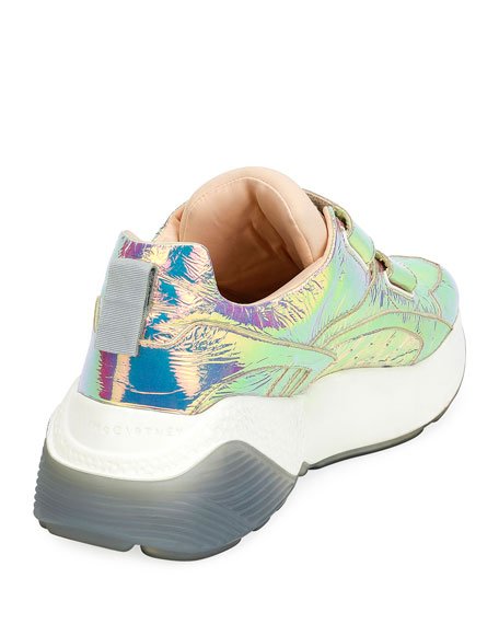Prisma Grip-Strap Multicolor Sneakers
