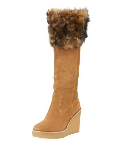 Valberg Toscana Wedge Knee-High Boot