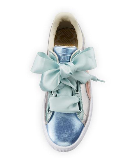 Basket Heart Bauble Colorblock Sneaker