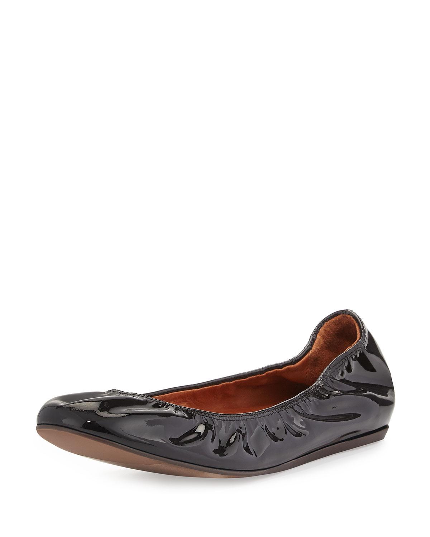 7d951eb079a8b Lanvin Patent Leather Ballet Flat