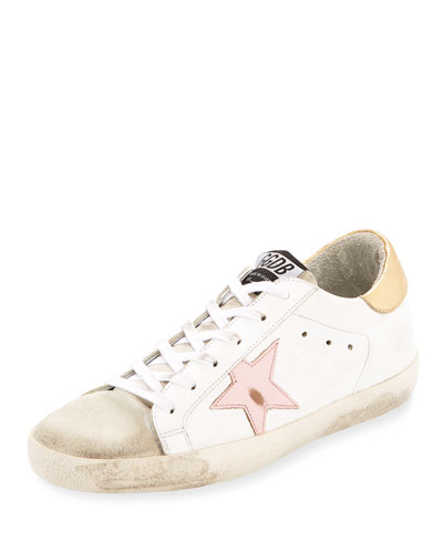 Superstar Leather Low-Top Sneake