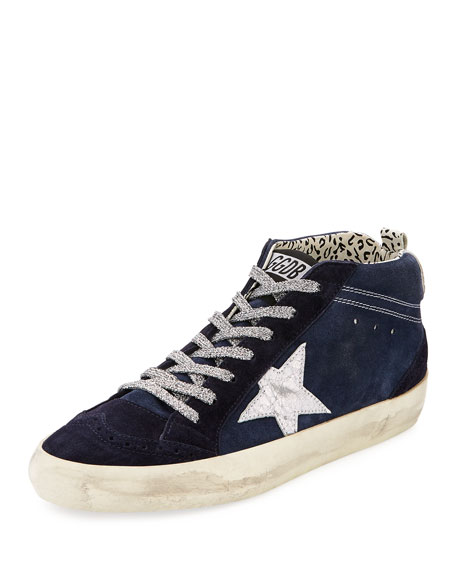 Golden Goose Mid-Top Star Suede Sneaker