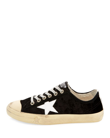 V Start 2 Velvet Low-Top Sneaker
