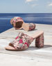 Image 5 of 6: Onevase Floral-Embroidered Mule Sandal