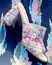 Onevase Floral-Embroidered Mule Sandal