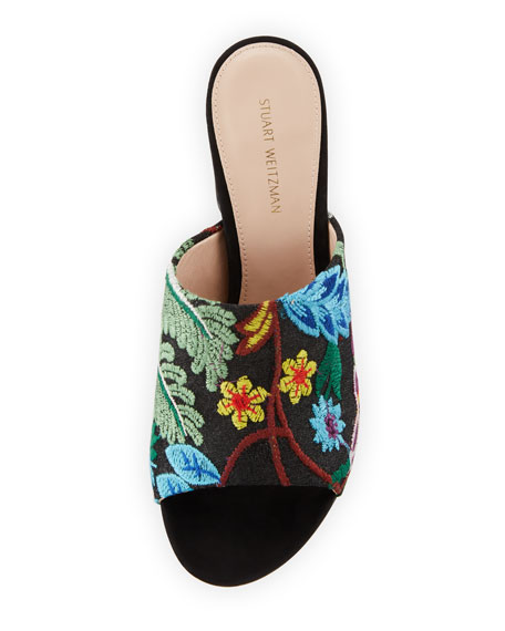 Onevase Embroidered Slide Sandal