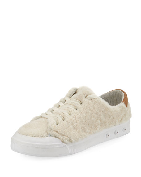 Rag & Bone Standard Issue Shearling Fur Low-Top