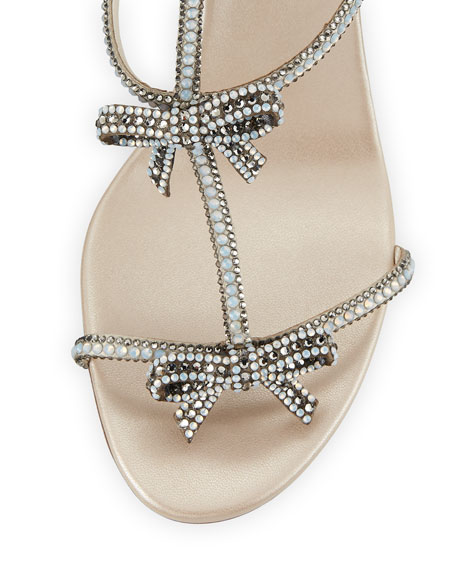 Bow Embellished 80mm Sandal