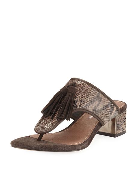 Donald J Pliner Tira Slide Tassel Sandal