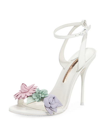 Lilico Floral Calf Leather Sandal