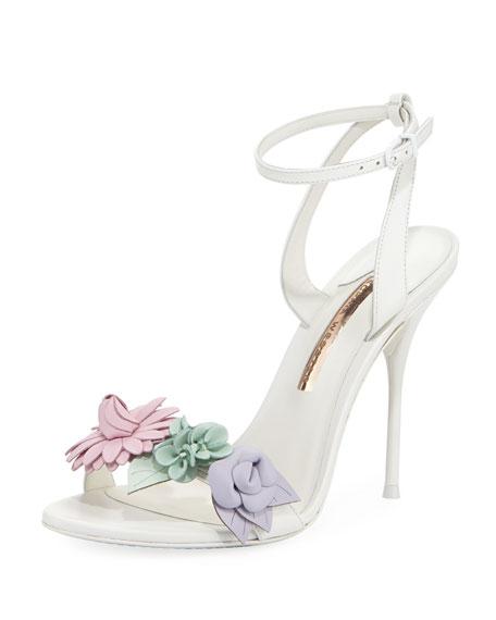 Sophia Webster Lilico Floral Calf Leather Sandal