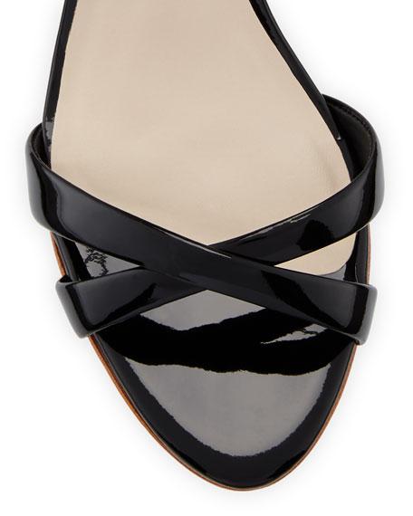 Madame Chiara Patent Butterfly Sandal