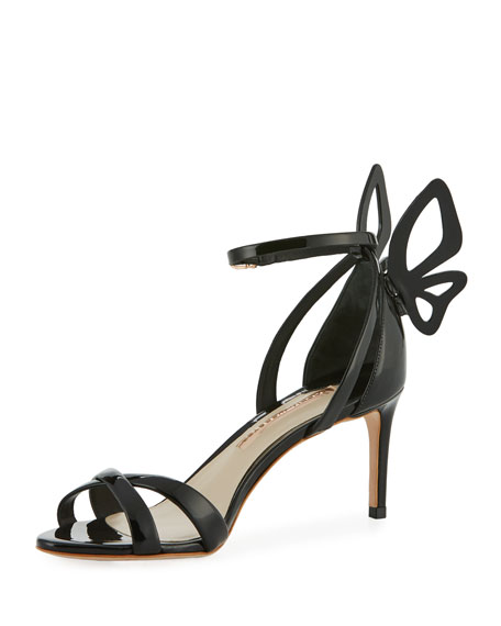 Sophia Webster Madame Chiara Patent Butterfly Sandal