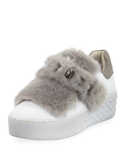 Djin Embellished Grip Platform Sneaker