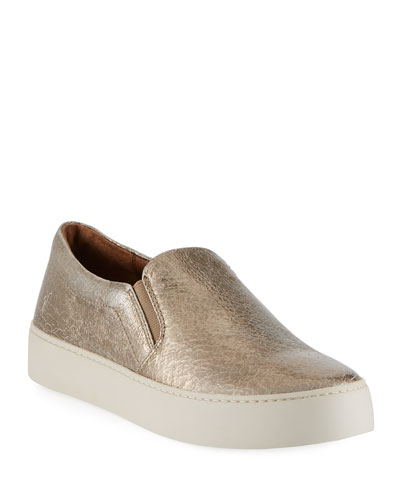 Lena Crackled Platform Sneaker
