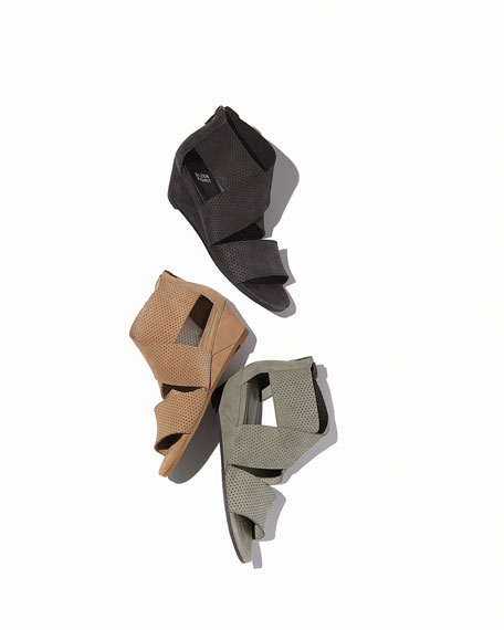 Kes 2 Perforated Wedge Sandal