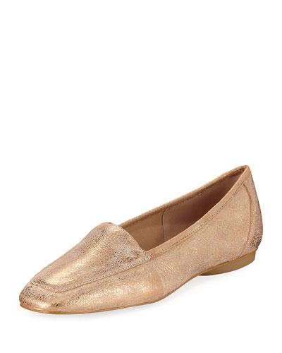 Deedee Slip-On Metallic Flat, Bronze