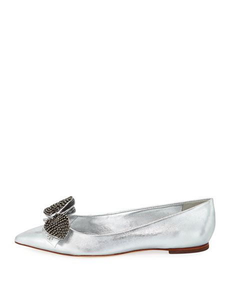 Rosalind Metallic Ballerina Flat