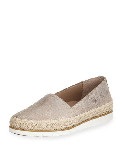 Palm Metallic Slip-On Sneaker
