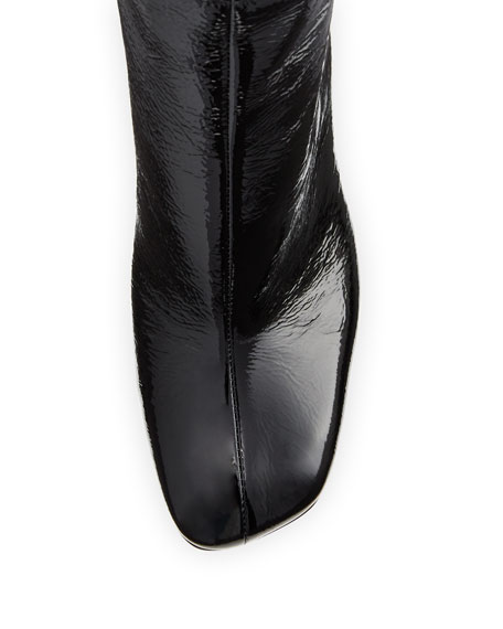 Ellis Patent Leather Ankle Boot